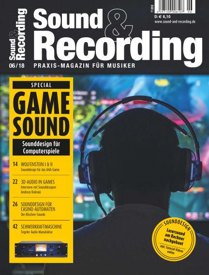 Sound & Recording June 08, 2018 00:00