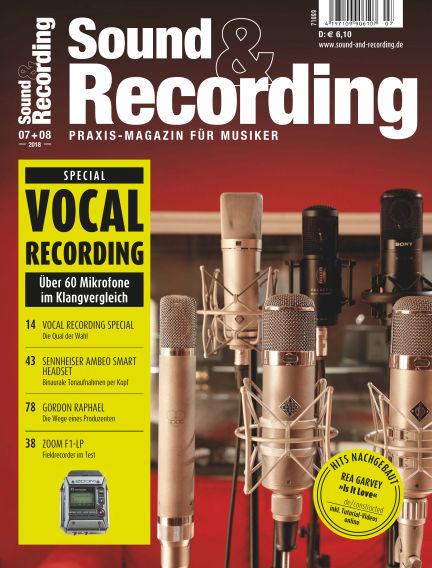 Sound & Recording July 06, 2018 00:00