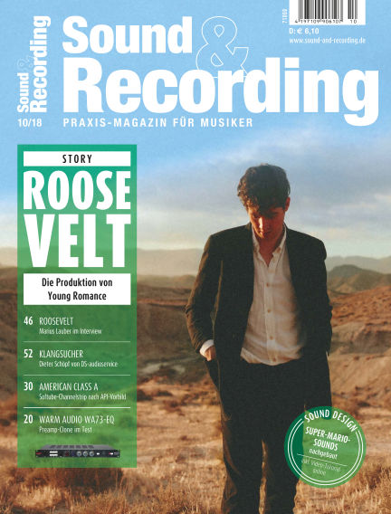 Sound & Recording October 05, 2018 00:00