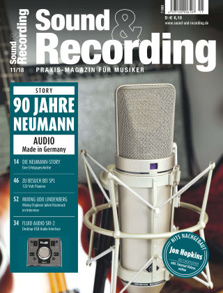 Sound & Recording 11/2018