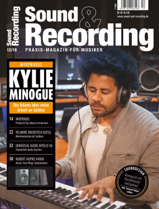Sound & Recording 12/2018