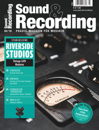 Sound & Recording 3/2019