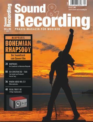 Sound & Recording 4-5/2019