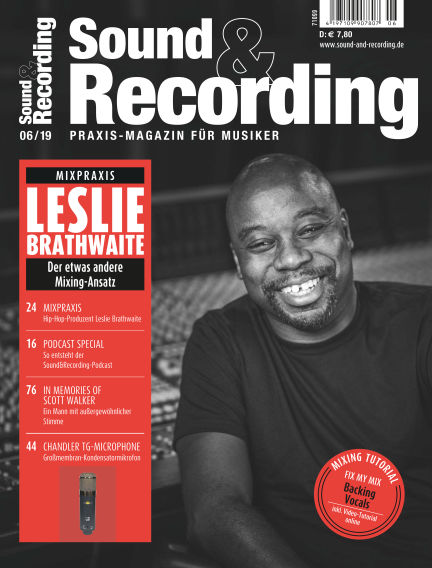 Sound & Recording June 20, 2019 00:00