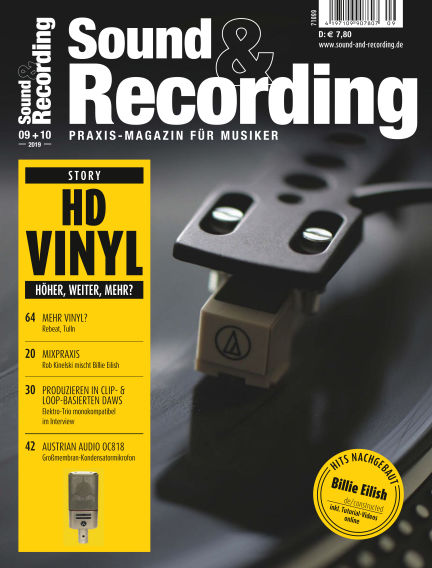 Sound & Recording September 06, 2019 00:00