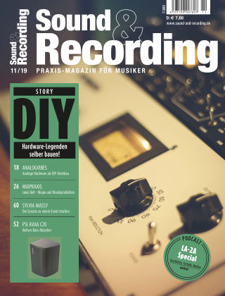 Sound & Recording 11-2019