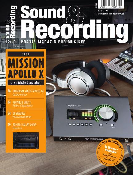 Sound & Recording December 06, 2019 00:00