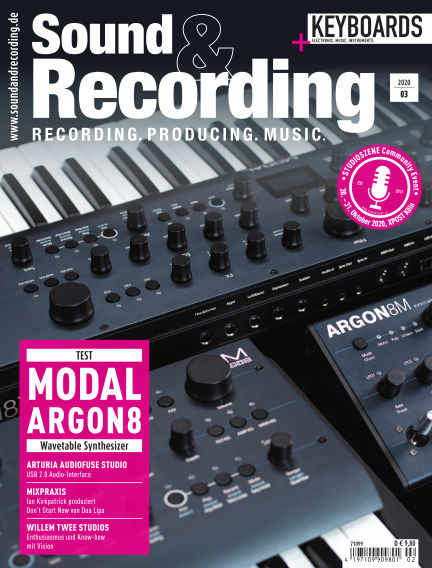 Sound & Recording June 05, 2020 00:00