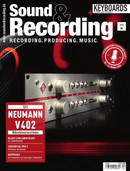 Sound & Recording August 07, 2020 00:00