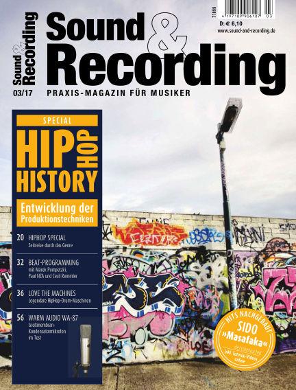 Sound & Recording March 01, 2017 00:00