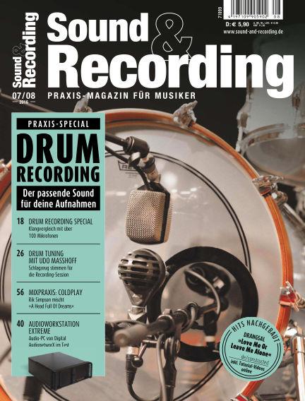 Sound & Recording June 29, 2016 00:00