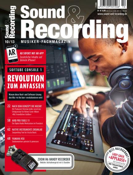 Sound & Recording October 03, 2013 00:00
