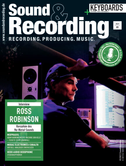 Sound & Recording February 05, 2021 00:00