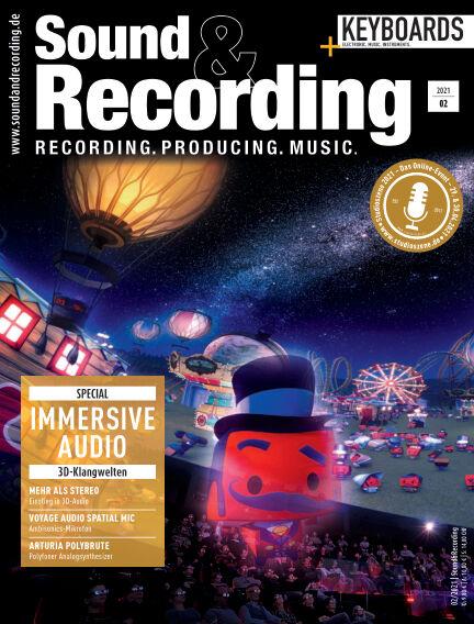 Sound & Recording April 09, 2021 00:00