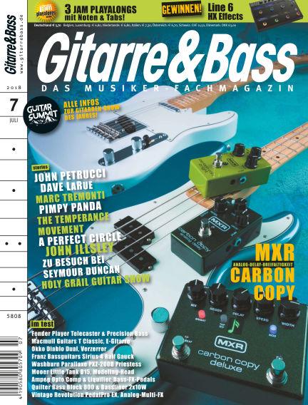 Gitarre & Bass July 22, 2018 00:00