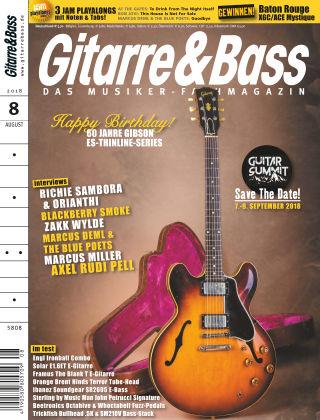 Gitarre & Bass 08/2018