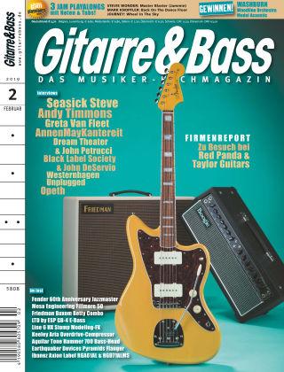 Gitarre & Bass 02/2019