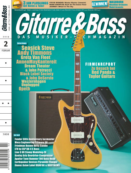 Gitarre & Bass January 25, 2019 00:00