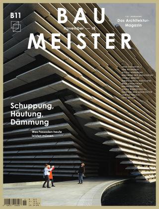 Baumeister – Das Architektur-Magazin 11/18