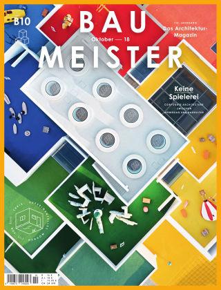 Baumeister – Das Architektur-Magazin 10/18