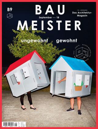 Baumeister – Das Architektur-Magazin 09/18