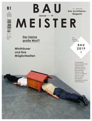 Baumeister – Das Architektur-Magazin 01/19