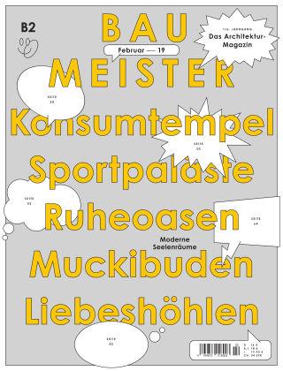 Baumeister – Das Architektur-Magazin 02/19