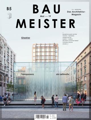 Baumeister – Das Architektur-Magazin 05/19