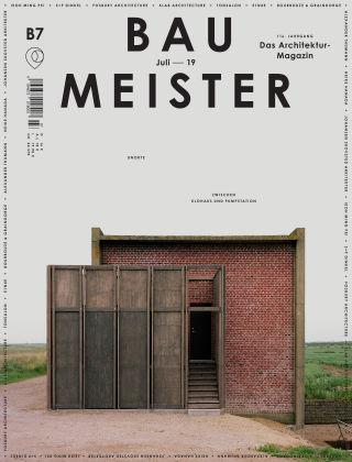 Baumeister – Das Architektur-Magazin 07/19