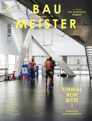 Baumeister – Das Architektur-Magazin 08/19