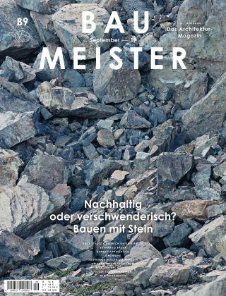 Baumeister – Das Architektur-Magazin 09/19
