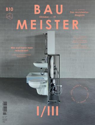 Baumeister – Das Architektur-Magazin 10/19