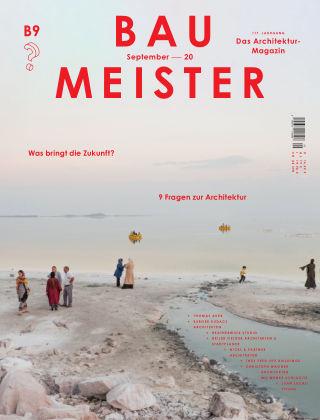 Baumeister – Das Architektur-Magazin 09/20