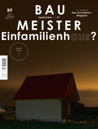Baumeister – Das Architektur-Magazin 09/21