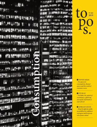 topos - The International Review of Landscape Architecture and Urban Design 109