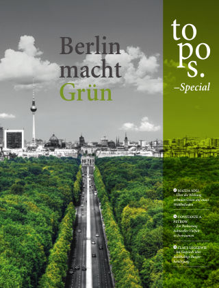 topos - The International Review of Landscape Architecture and Urban Design special