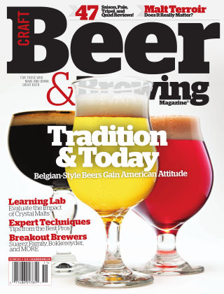 Craft Beer & Brewing Tradition & Today