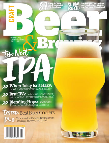 Craft Beer & Brewing July 30, 2018 00:00