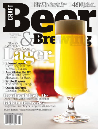 Craft Beer & Brewing Love About Lagers