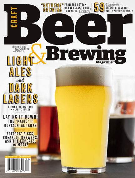 Craft Beer & Brewing January 08, 2019 00:00