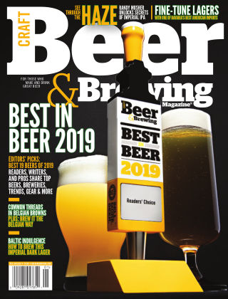 Craft Beer & Brewing Best in Beer 2019