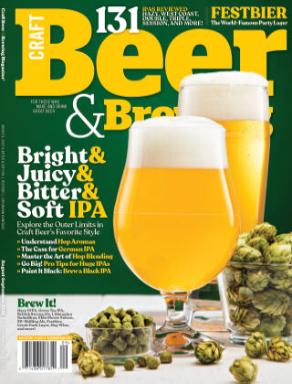 Craft Beer & Brewing Aug-Sept 2021