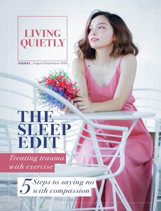 Living Quietly Magazine August 2018