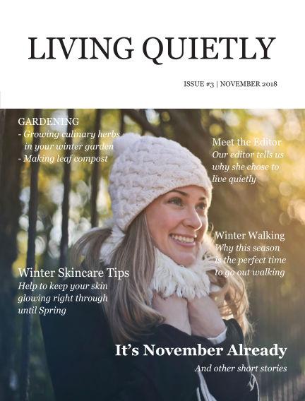 Living Quietly Magazine November 01, 2018 00:00