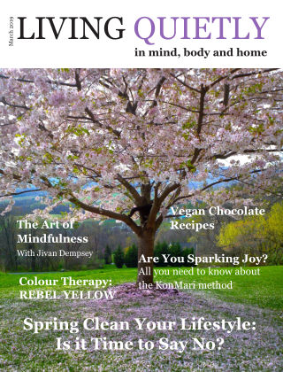 Living Quietly Magazine March 2019