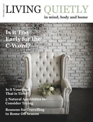 Living Quietly Magazine November 2019