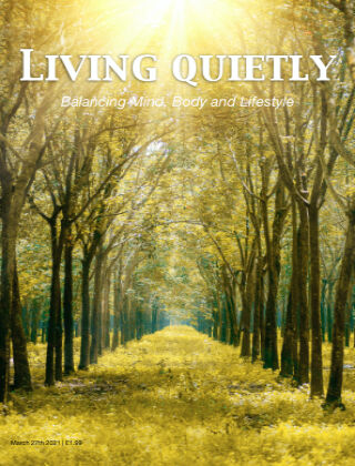 Living Quietly Magazine 27 March 2021