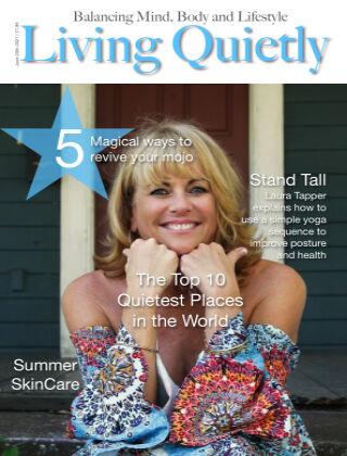 Living Quietly Magazine june 20th 2021