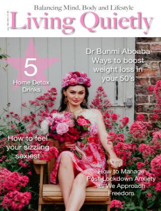 Living Quietly Magazine july 18th 2021