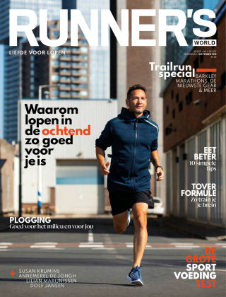 RUNNER'S WORLD - NL September 2018